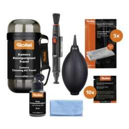 ROLLEI Kit de nettoyage de caméra ROLLEI Voyage Kit de nettoyage