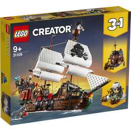 LEGO Creator 3-in-1 Le bateau pirate (31109)