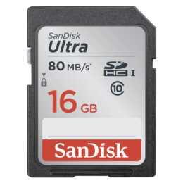 SANDISK Speicherkarte Ultra SDHC 16 GB