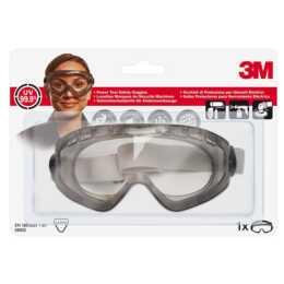 Occhiali di sicurezza 3M Comfort full view, grigio