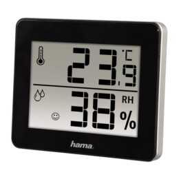 HAMA TH-130 Thermo-/Hygrometer (Schwarz)