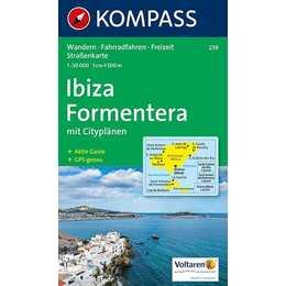 Ibiza, Formentera (1:50 000)