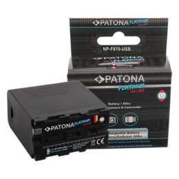 PATONA Sony NP-F970 Accumulatore (Agli ioni di litio, 10500 mAh)