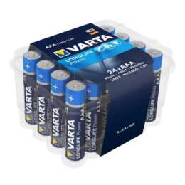 VARTA Batterie (AAA / Micro / LR03, 24 Stück)