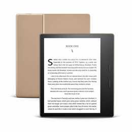 """AMAZON Kindle Oasis (7"""", Champagner Gold, WLAN 802.11b, WLAN 802.11g, Bluetooth, WLAN 802.11n, 32 GB)"""