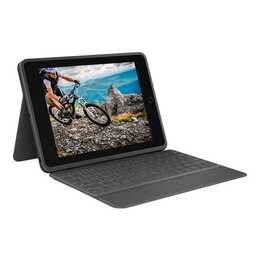 "LOGITECH Rugged Folio Type Cover / Tablet Tastatur (10.2"", Schwarz)"