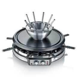 SEVERIN Combinaison à fondue Raclette RG 2348