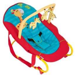 HAUCK Babywippe Bungee Deluxe JungeFun (Rot, Blau)