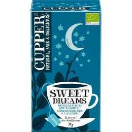 CUPPER Sweet Dreams Tè d'erbe (Bustina di tè, 20 pezzo)