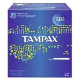 TAMPAX Super Tampon (30 Pièce, Large)