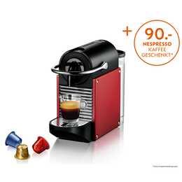 DELONGHI Pixie EN.125 Electric Carmin (Nespresso, Rouge)