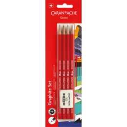 CARAN D'ACHE Bleistift 341 Graphite Set