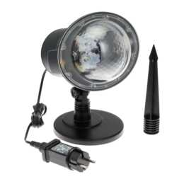 Projektor LED Schneefall weiss