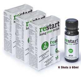 RE+START hang over drink (6x 60 ml)