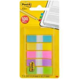 3M Page Marker Post-it Mehrfarbig, 100 Stück