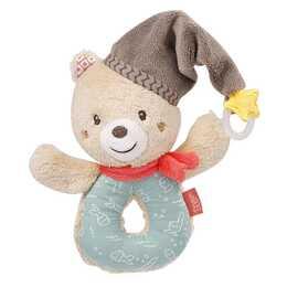 SOMBO Greifling Teddy mit Schnullerring