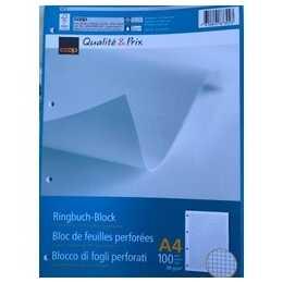 COOP QUALITÉ & PRIX Blocchi note FSC Mix 4mm (A4, Quadrettato)