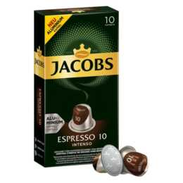 JACOBS Capsules de Café Expresso Intenso (10 Pièce)