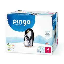 PINGO couches eco multipack taille 4 (80 pièce)