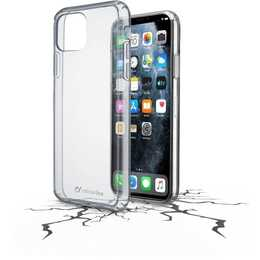 CELLULAR LINE Backcover Clear Duo (iPhone 11 Pro Max, Transparent)