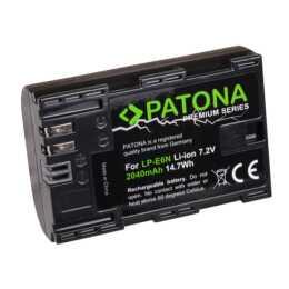 Batteria PATONA Premium per Canon LP-E6N