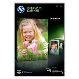 HP 10 x 15 cm Fotopapier (100 Blatt)