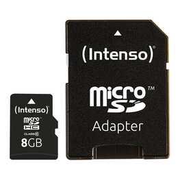 INTENSO microSDHC Class 10 8GB