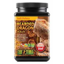 EXOTERRA Bearded Dragon Integratori alimentari (Granulato, 250 g)