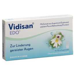 VIDISAN Augentropfen Edo (10 x 0.6 ml)