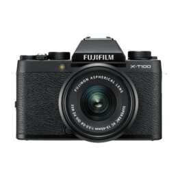 FUJIFILM X-T100 Black + XC15-45mm f/3.5-5.6 OIS PZ