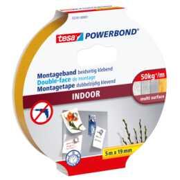 Ruban de montage TESA Powerbond Indoor 5 m x 19 mm