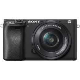 SONY Alpha 6400 + E PZ 16-50 mm, F3,5-5,6 OSS Kit (24.2 MP, WLAN)