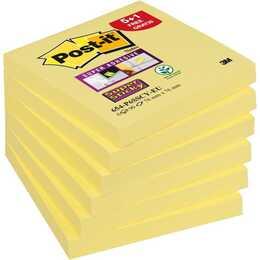 POST-IT Haftnotizen Super Sticky (76 mm x , Gelb)