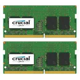 CRUCIAL CT2K8G4SFS824A (2 x, 8 Go, DDR4-2400 SDRAM, SO-DIMM 260-Pin)
