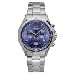 SWISS MILITARY Armbanduhr Chronograph Blue