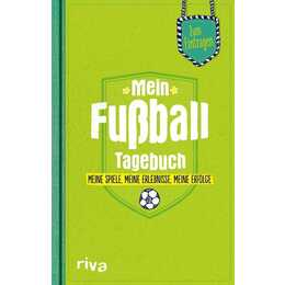 RIVA VERLAG Tagebuch Mein Fußball (Grün)