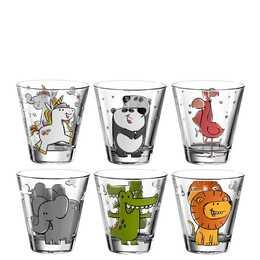 LEONARDO Bicchiere da acqua Bambini  (0.12 l, 6 pezzo)