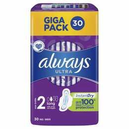ALWAYS Ultra Long Giga Pack  Serviettes périodique (30 pièce)