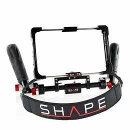 SHAPE INFICON1 Supporto per fotocamera fauna selvatica (Nero)
