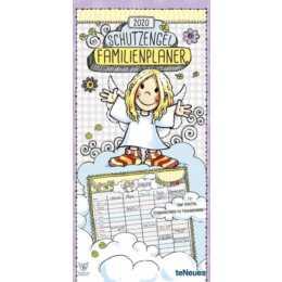TENEUES Familienplaner & Geburtstagskalender 2020