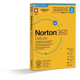 NORTON 360 Deluxe - Promotion Box 3 Devices (Versione completa, Multilingue)