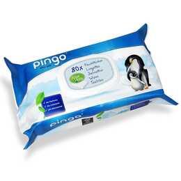 PINGO lingettes humides Aloe Vera paquet individuel