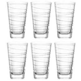 Set di bicchieri da bere LEONARDO Vario, struttura 2,8 dl, 6 pezzi