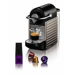 KRUPS Pixie Titan 2 XN304T (Nespresso, Gris titane)