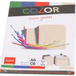 ELCO Briefumschlag Color (C6, A6, 20 Stück)