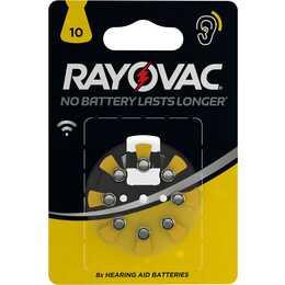 VARTA 10 Batterie (Hörgeräte, 8 Stück)
