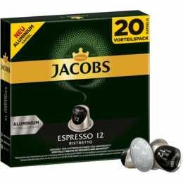 JACOBS Capsules de Café Ristretto (20 Pièce)
