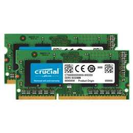 16GB (2x8GB), DDR3 1600MHz, Non-ECC, 204