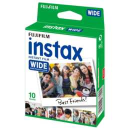 FUJIFILM Instax Wide Color Sofortbildfilm (Instax Wide, 10x)