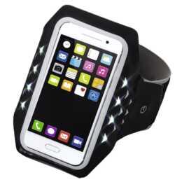 HAMA Sport-Armband (Schwarz; LED)
